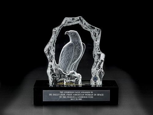 Award, Lindbergh Eagle, Sally Ride
