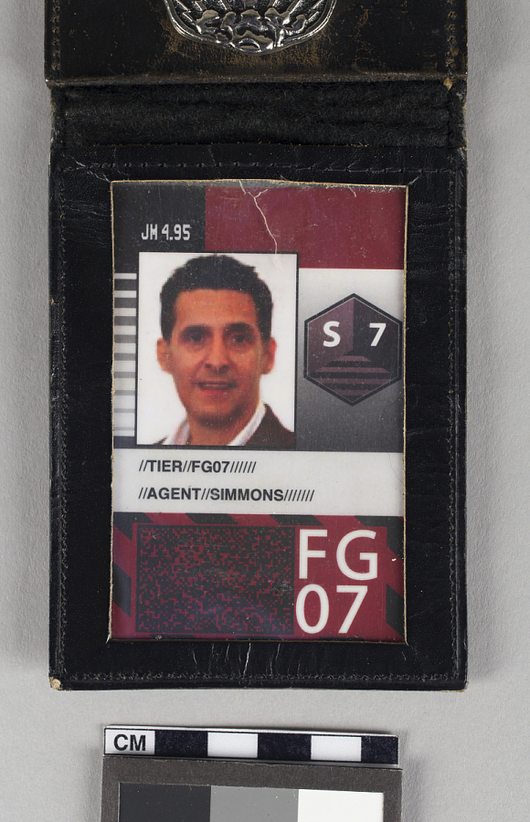 Agent Simmons Sector 7 Badge