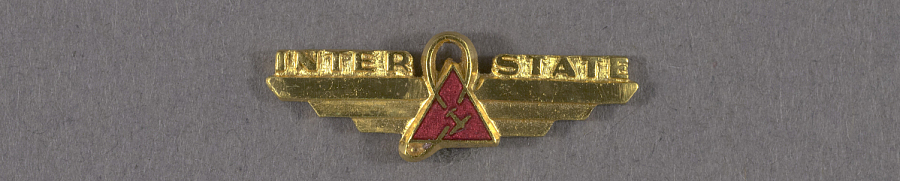 Pin, Lapel, Inter State Airlines