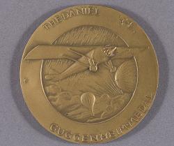 Medal, Daniel Guggenheim Medal, Robert H. Goddard, 1964