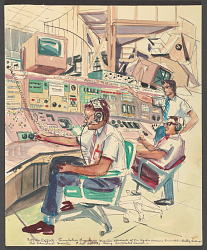 Engineers and Apollo Simulator