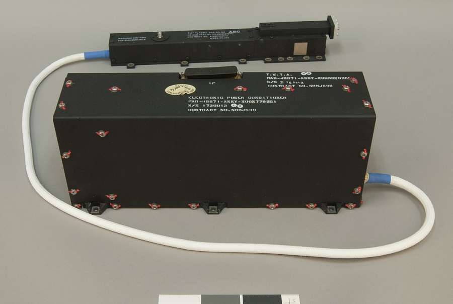 Travelling Wave Tube Assembly, Communications Satellite, BS-3N SATELLITE