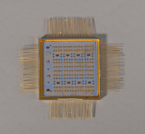 Discrete Command, Microelectronic Hybrid, Milstar Communications Satellite