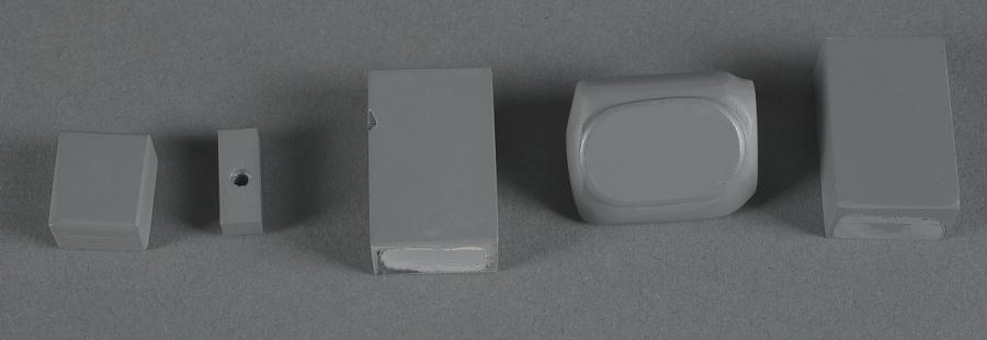 Miscellaneous Parts, Model, Poseidon Ballistic Missile Submarine, Cross Section