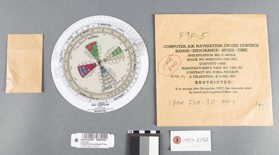 Envelope, Computer, Range/Endurance/Speed/Time, Felsenthal