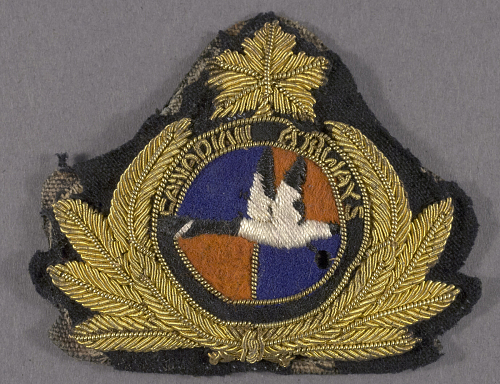 Badge, Cap, Canadian Airways Ltd.
