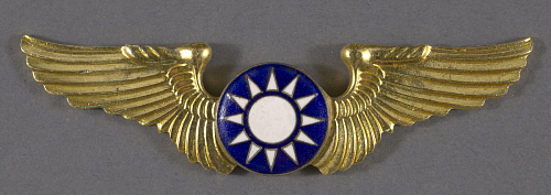 Badge, Pilot, Nationalist Chinese Air Force
