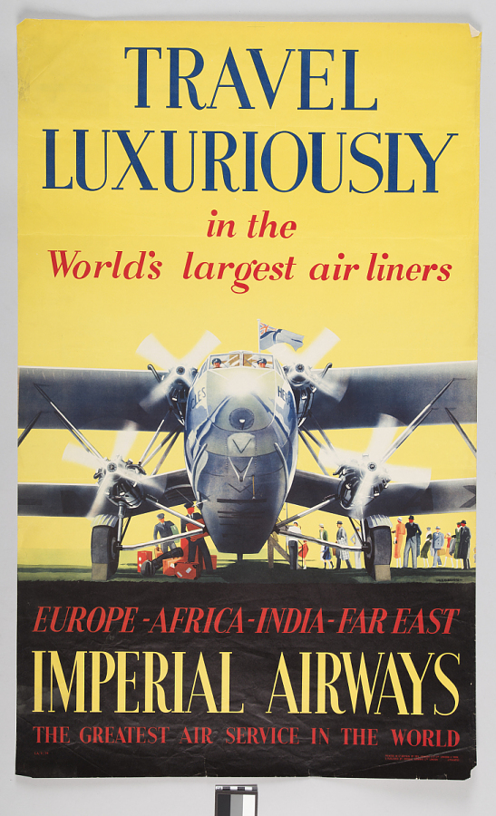 Imperial Airways Travel Luxuriously in the World's Largest Air Lines