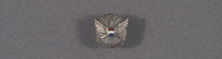 Pin, Lapel, United Air Lines