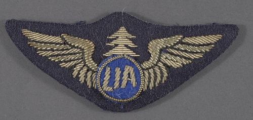 Badge, First Officer Pilot, Libya International Airlines
