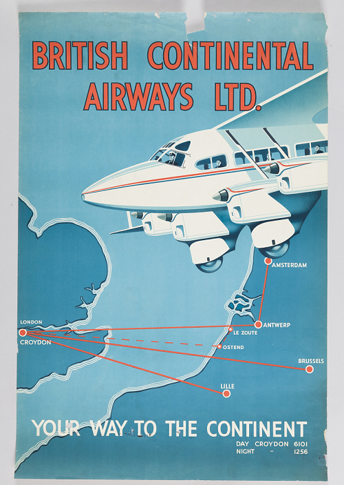 British Continental Airways Ltd. Your Way to the Continent
