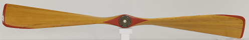 Baldwin Red Devil Propeller, fixed-pitch, two-blade, wood