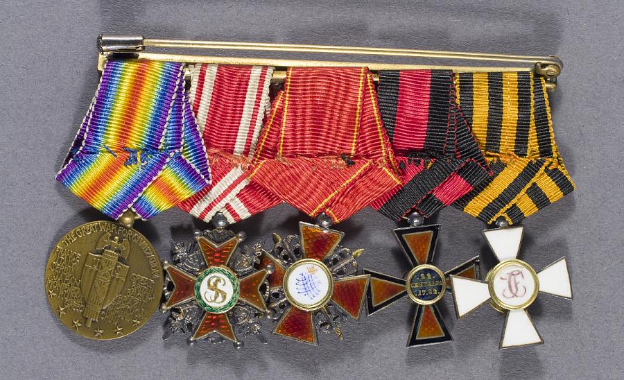 Medals, Miniatures, Alexander de Seversky