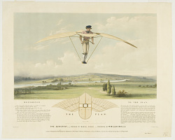 The Aerostat,--Worked by Manual Power--Invented by W. Miller, M.R.C.S.