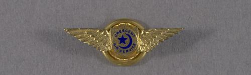 Pin, Lapel, Crescent Air Service