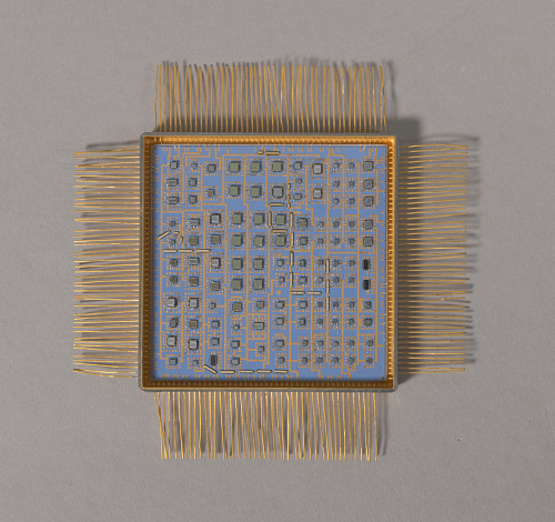 MSP Sequencer, Microelectronic Hybrid, Milstar Communications Satellite