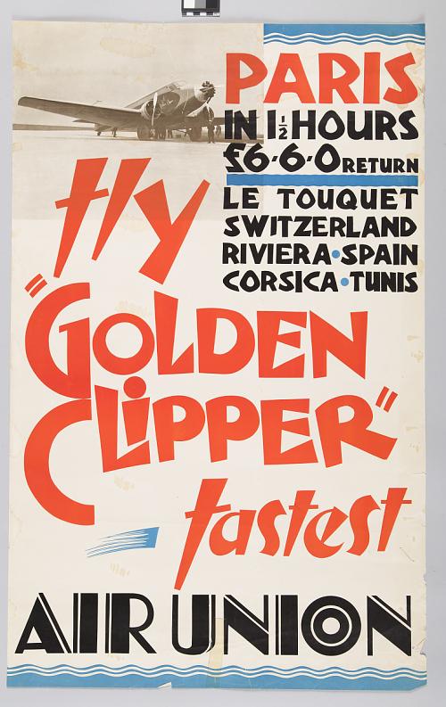 "Air Union Fly ""Golden Clipper"""
