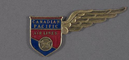 Badge, Flight Attendant, Canadian Pacific Airlines Ltd.
