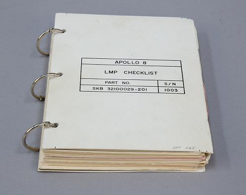 Checklist, Apollo 8, Anders