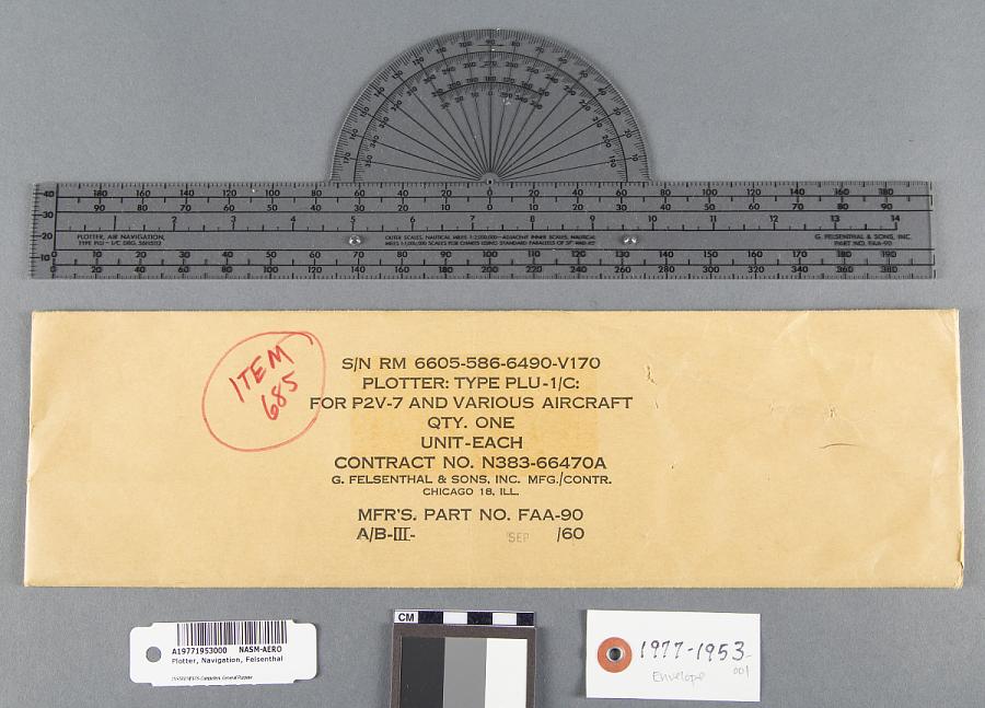 Envelope, Plotter, Navigation, Felsenthal
