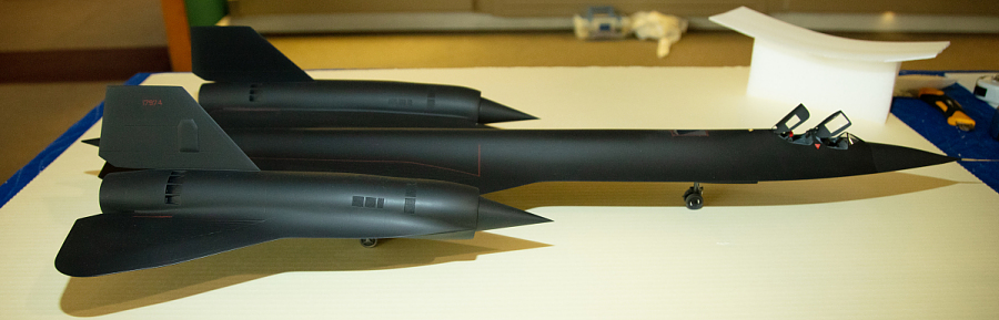 Model, Static, Lockheed SR-71A Blackbird