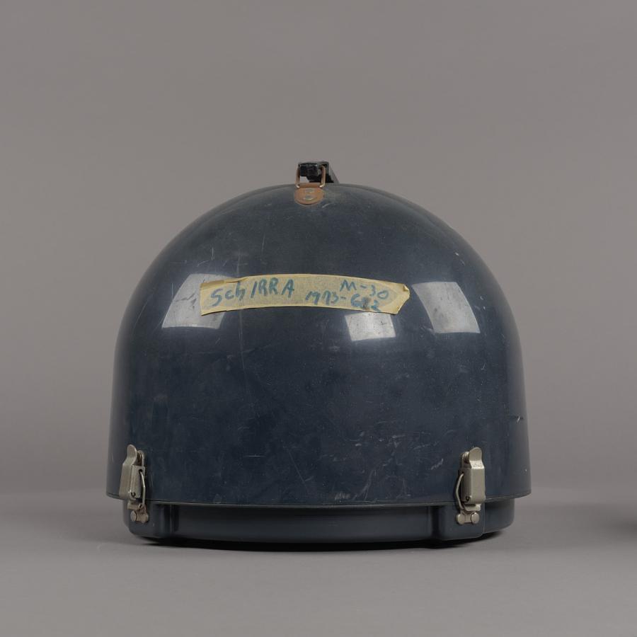 Case, for Helmet, Mercury, Schirra, Anthropomorphic