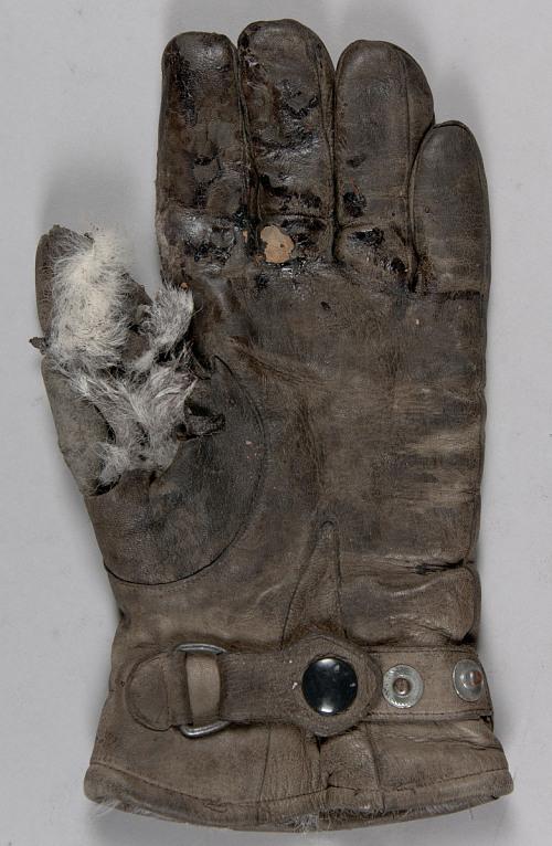 Glove, Flying, Type FW5 m/33, Luftwaffe, Gunther Rall