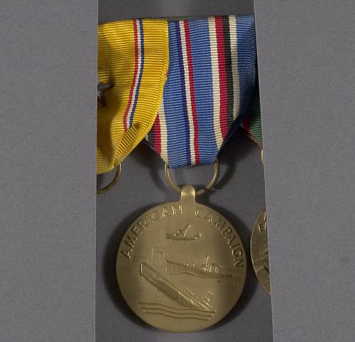 Medal, American Campaign Medal, Bernt Balchen