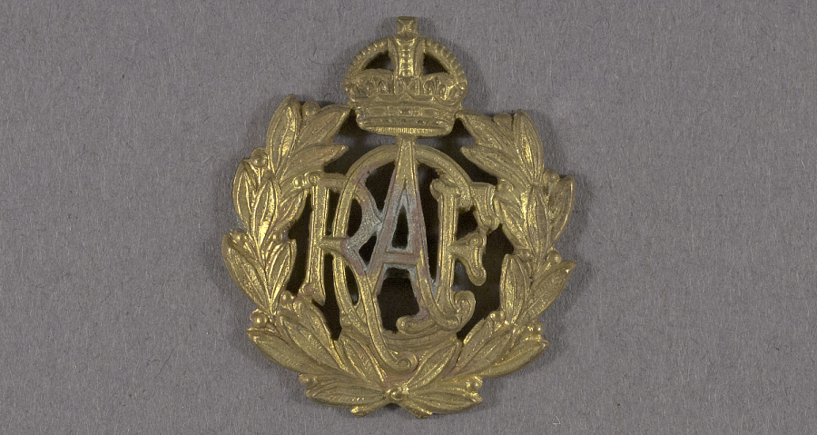 Badge, Cap, Royal Canadian Air Force