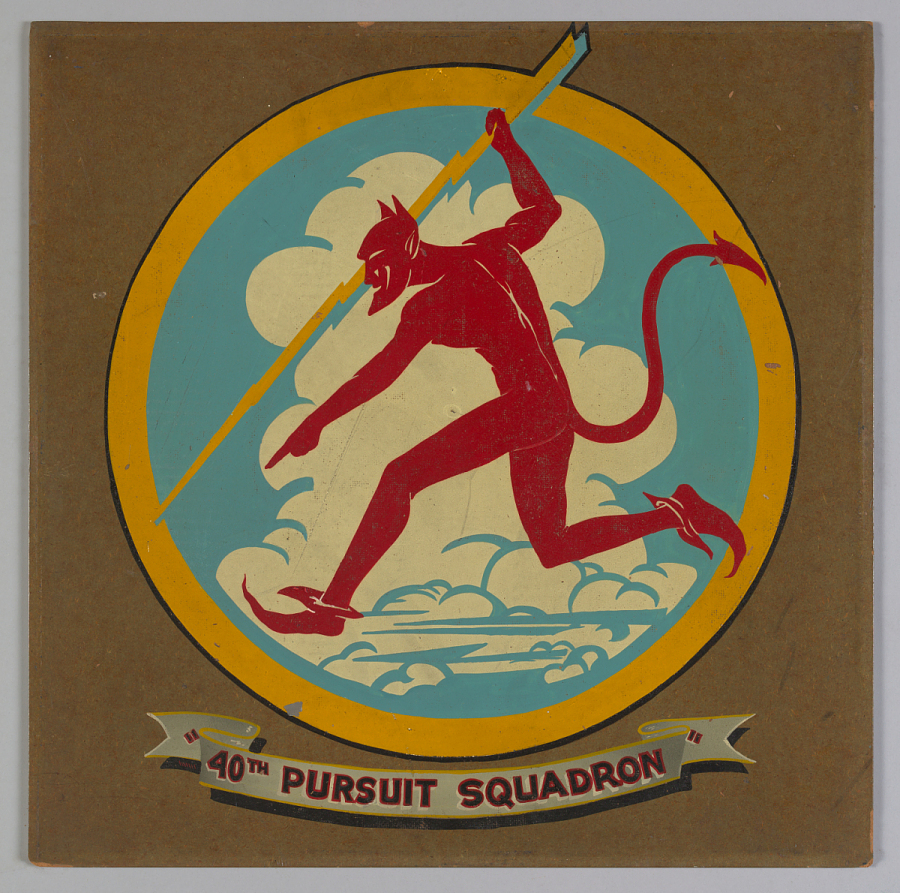 Insignia, 40 Pursuit Squadron, United States Army Air Corps