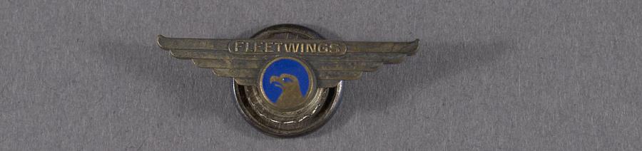 Pin, Lapel, Fleetwings