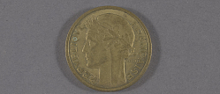 "Coin, France, 2 Francs, Lockheed Sirius ""Tingmissartoq"", Lindbergh"