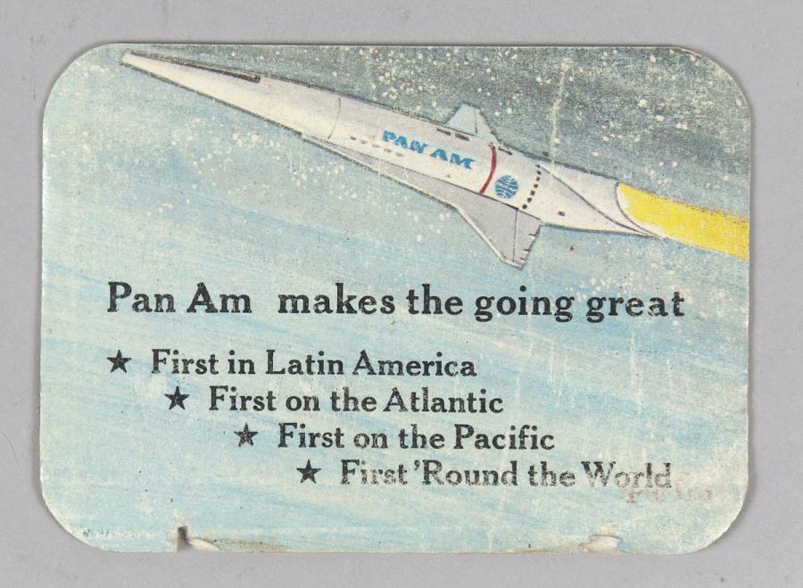 "Card, Club, Pan Am ""First Moon Flights"""