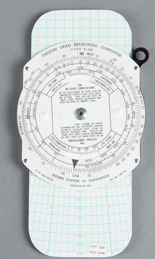 Computer, Dead Reckoning, Weems System of Navigation, Dalton, E-6B