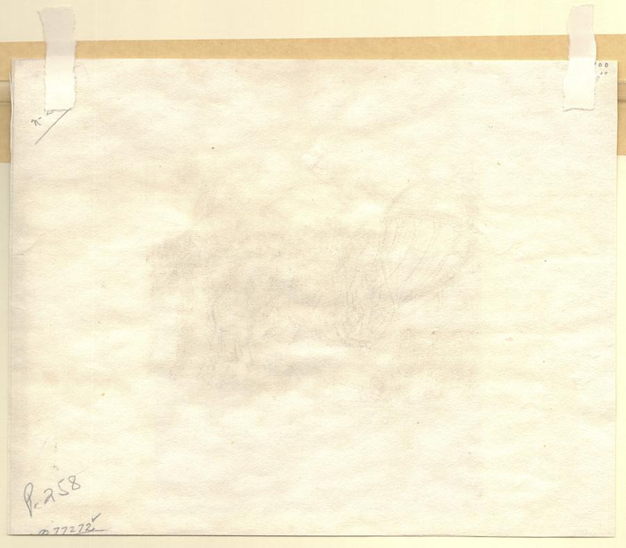 Nouvelle Charrue sans brevet d'invention. Propre a labourer la terre sans Chevaux inventeé par Mr. Deghen Celebre Mécanicien Allemand Essayee au Champ de Mars 5 octobre 1812.
