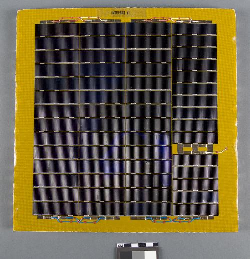 Solar Cell Test Panel, Intelsat VI