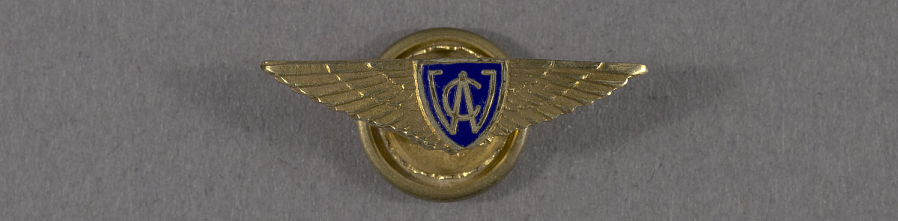Pin, Lapel, Curtiss Wright