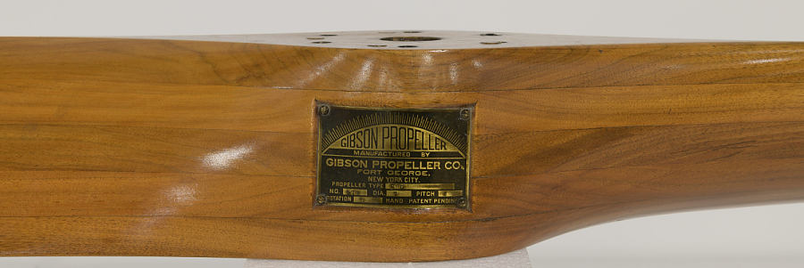 Requa Gibson Propeller Co. Propeller, fixed-pitch, two-blade, wood