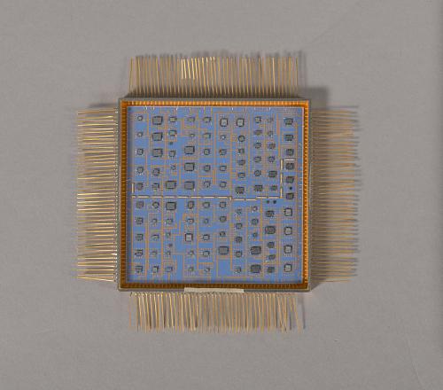 Telemetry Buffer, Microelectronic Hybrid, Milstar Communications Satellite