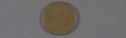 """Coin, Iceland, 25 Aurar, Lockheed Sirius """"Tingmissartoq"""", Lindbergh"""