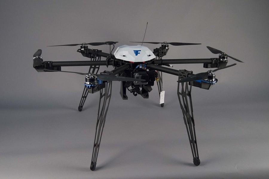 Case, Delivery Drone, Flirtey F3.0 Hexacopter 'Nemesis'