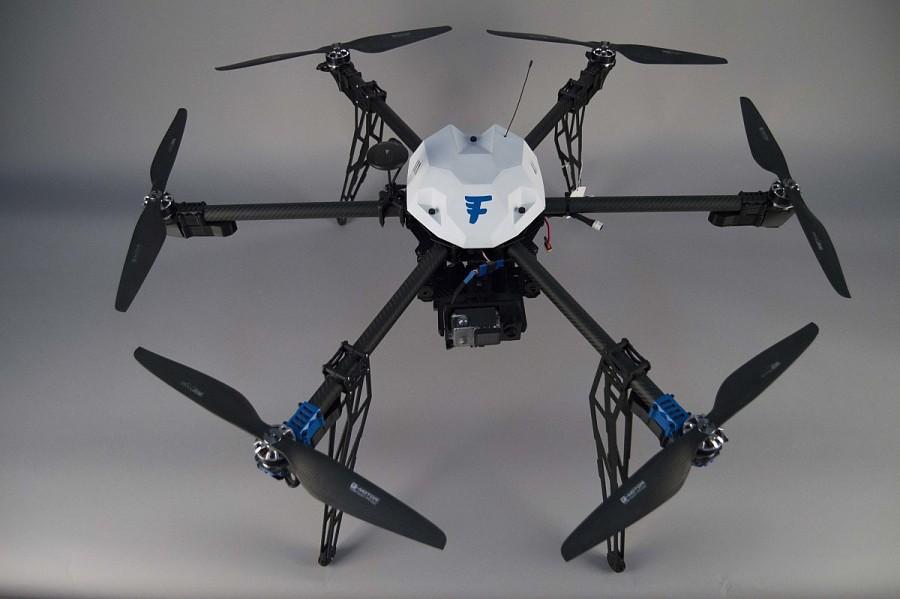 "Delivery Drone, Flirtey F3.0 Hexacopter ""Nemesis"""