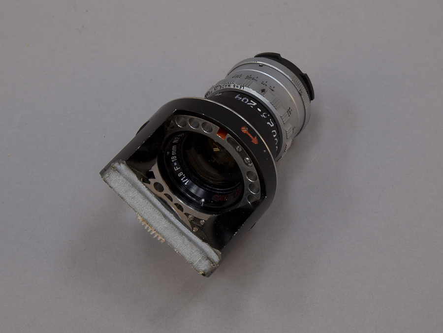 Lens, 18mm, with Mirror, Data Acquisition Camera, Apollo 8 and 9