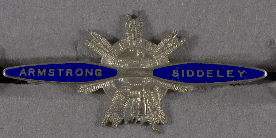 Pin, Lapel, Armstrong Siddeley