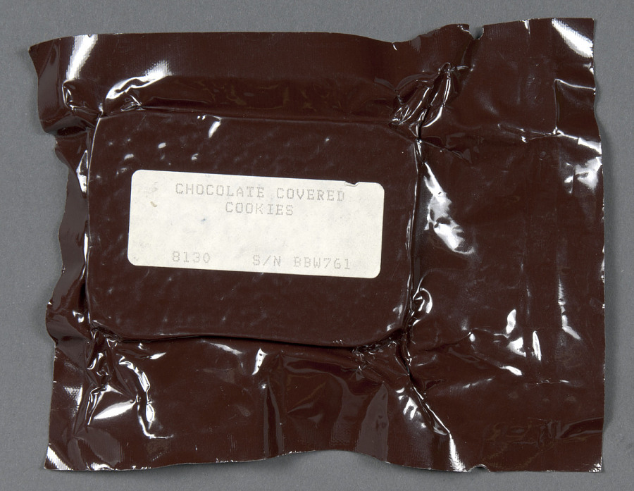 Space Food, Chocolate Covered Cookies, STS-27