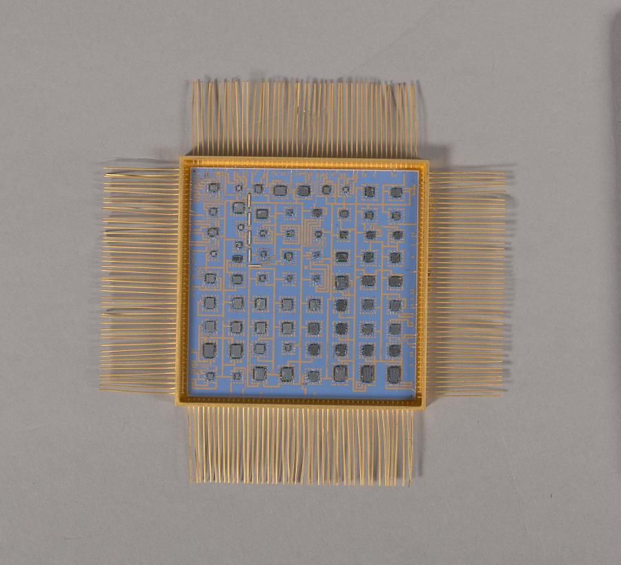 Command Distribution, Microelectronic Hybrid, Milstar Communications Satellite