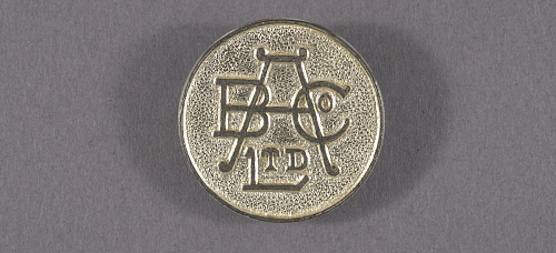 Pin, Lapel, War Worker, British Aluminum Company Ltd.
