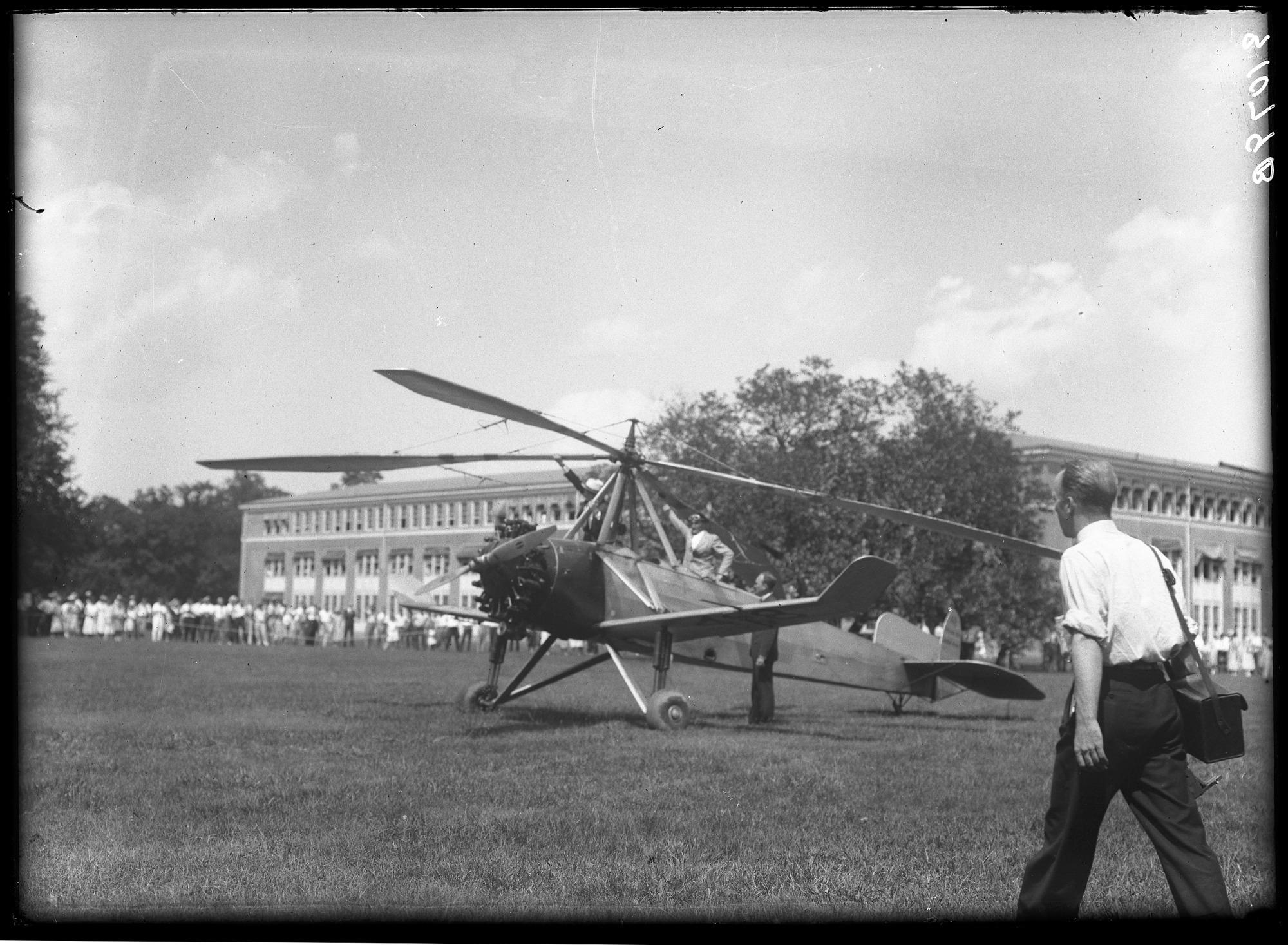 images for Cierva C.8 Mk.IV (C.8W) Autogiro, NASM. glass negative