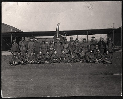 Military, USA, Army Air Service, Units, 1st Training Group; Tower, Roderick. [photograph]