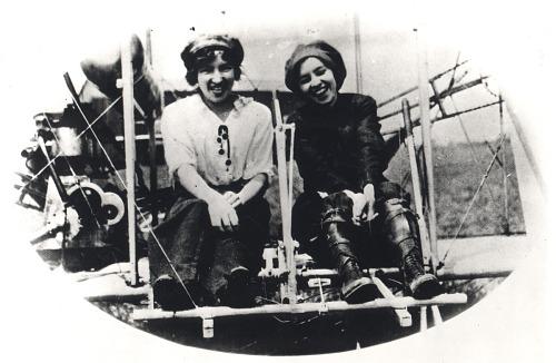 United States Women in Aviation through World War I